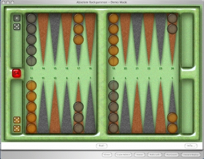 Click to view Absolute Backgammon 8.6.5 screenshot